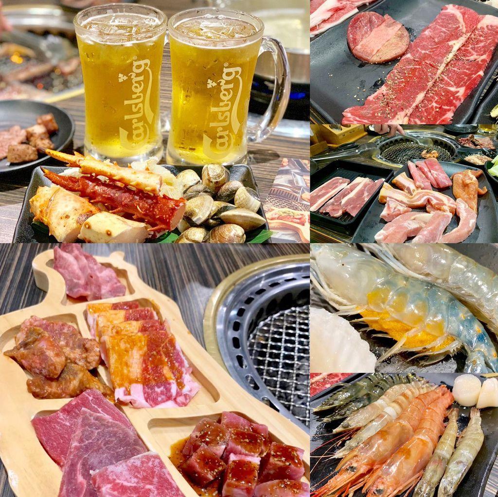 【新北樹林】好客燒烤│好客海鮮炭火燒肉新菜單,讓你吃喝到飽!嚴選精緻高級食材,還有帝王蟹腳、調酒&啤酒喝到飽!