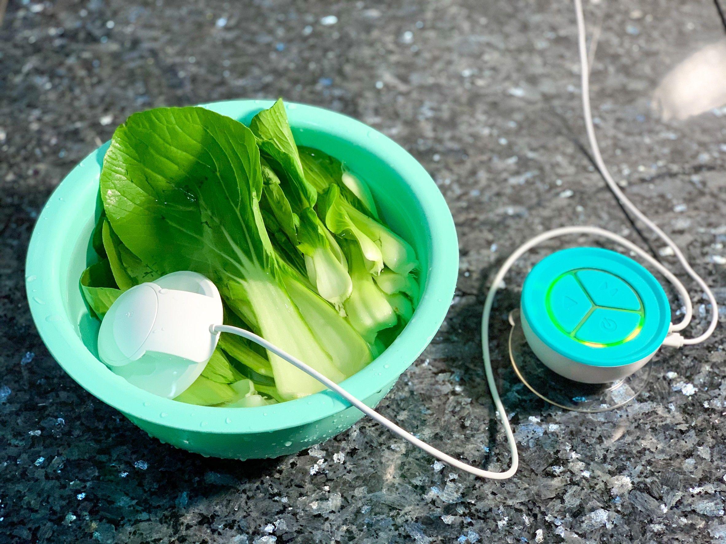 蔬活球Fluid Scanner水質檢測器│居家農藥檢測神器開箱【工研院專利技術移轉,IPX7防水認證】一台可用智慧告訴你吃下肚的蔬果有沒有洗乾淨的好物推薦