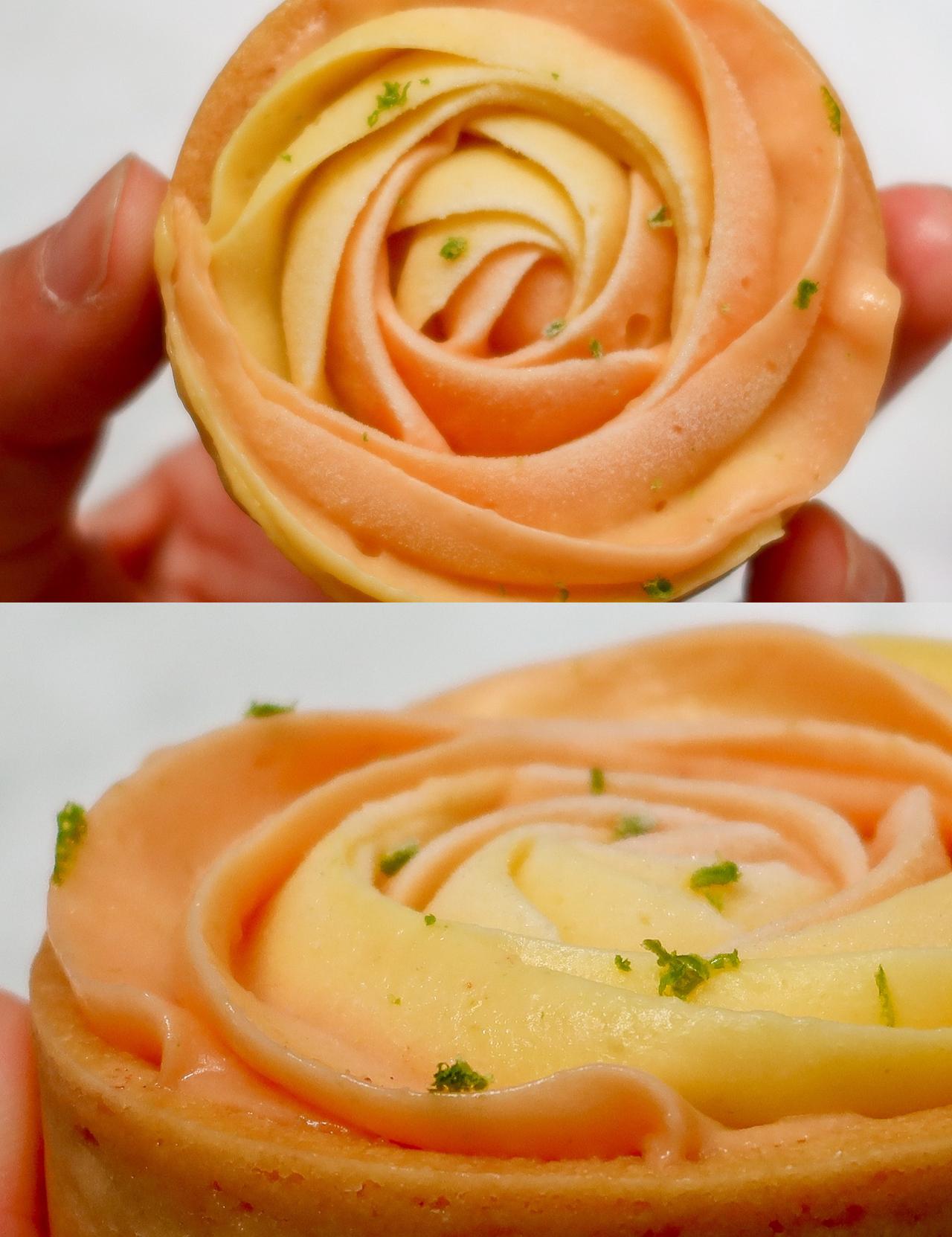D哥岩鹽檸檬塔│天然的尚好,無化學添加的雙色玫瑰檸檬塔【採接單後製作,為新鮮度勤把關】酸甜餡料酥脆外皮,流連忘返