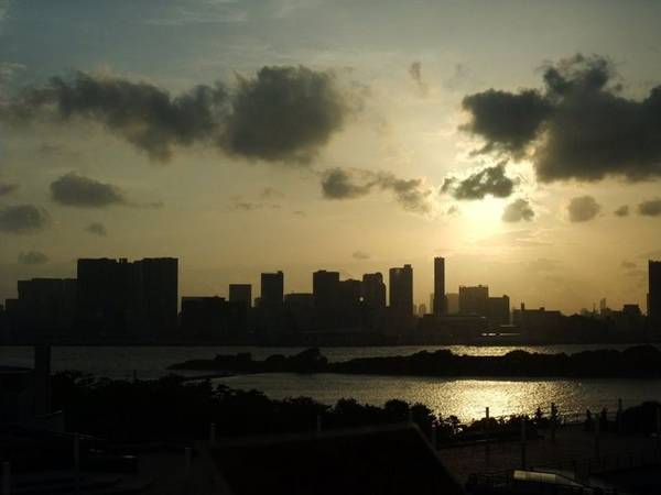 台場夕陽1.jpg
