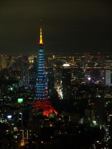 假裝低調的東京鐵塔.jpg