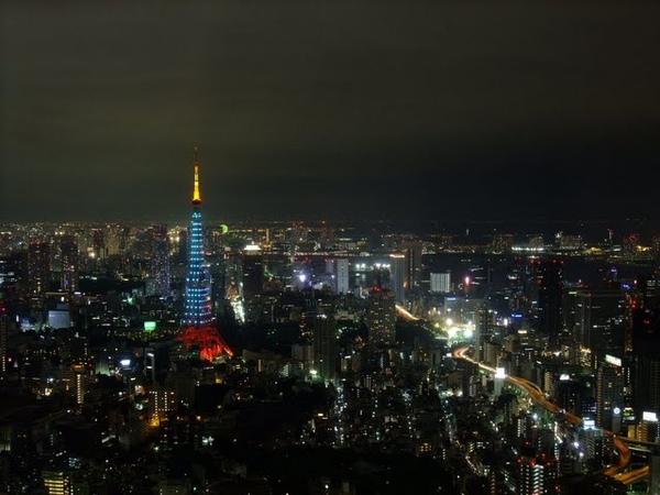 變色的東京鐵塔.jpg