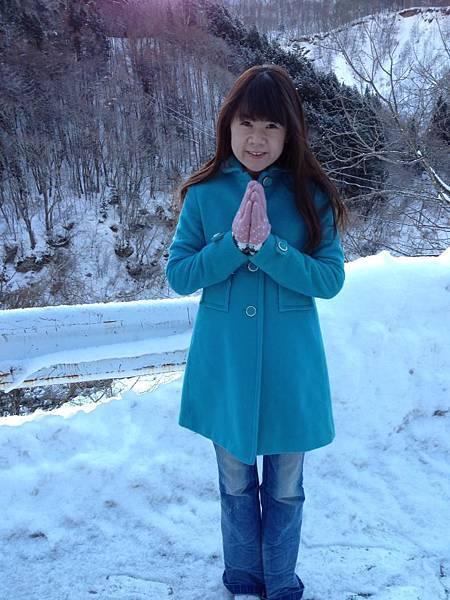 2013年2月。。日本名古屋雪國