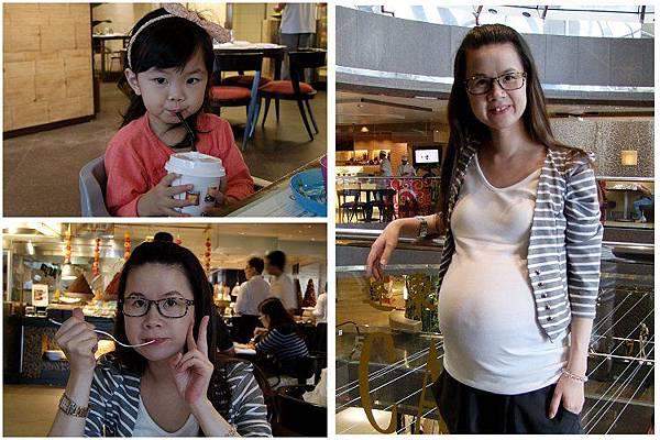 2013-09-23到遠企吃午餐
