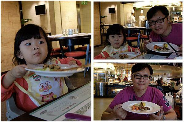 2013-09-23這是小妞第一次到飯店吃飯