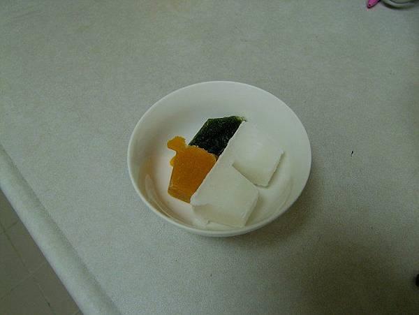 2014-03-07~【5m10d】南瓜菠菜粥