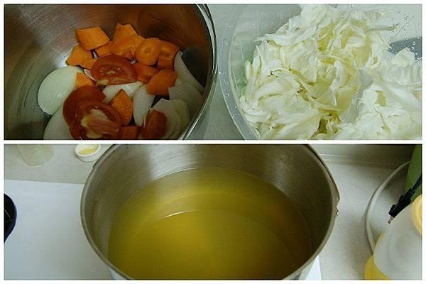 蔬菜高湯~(紅蘿蔔、洋蔥、番茄、高麗菜)