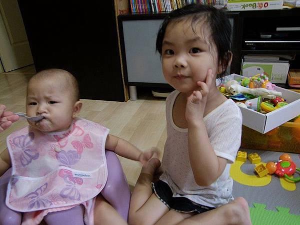 2014-06-09。。白蘿蔔玉米筍粥+小黃瓜炒雞肉