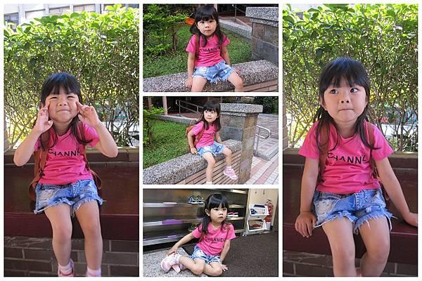 2014-09-05幼兒園小班上課第5天