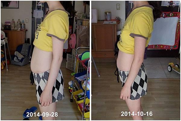 2014-09-28開始執行減肚計劃