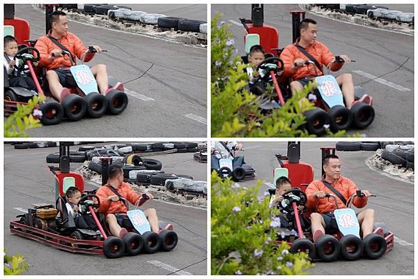 2014-11-23新竹內灣阿峰和他爸爸玩賽車