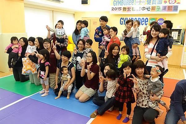 2015-03-22。健寶園親子運動會。