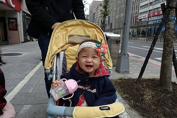 2015-03-22。健寶園親子運動會。回家囉。