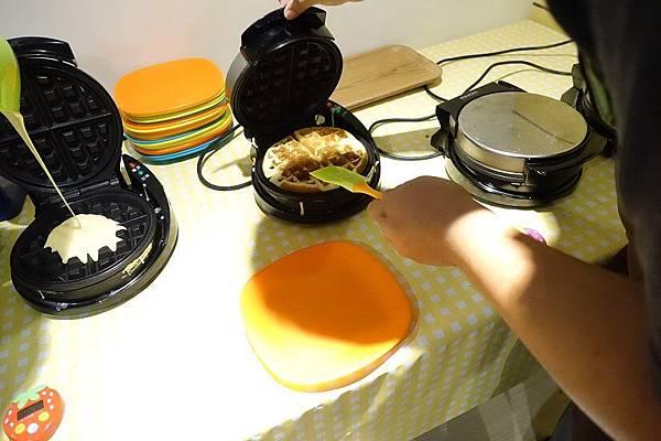 2015-05-23妞妞湯米鬆餅烘焙趣