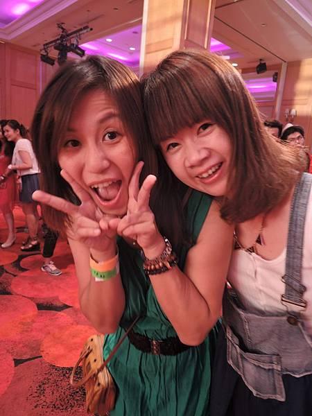 2015-07-14新竹煙波菁英特訓。晚上的七彩派對