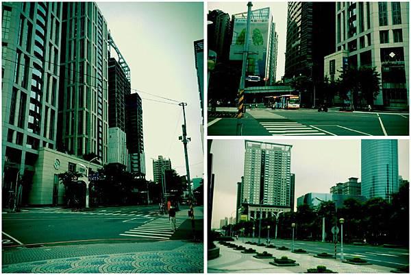 2015-07-14、15新竹煙波菁英特訓。14日,清晨6點的板橋街道