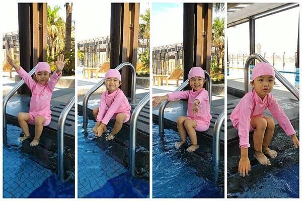 2015-09-08蘭城晶英飯店~~游泳
