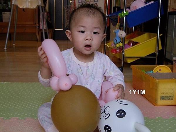 晴晴1歲1個月