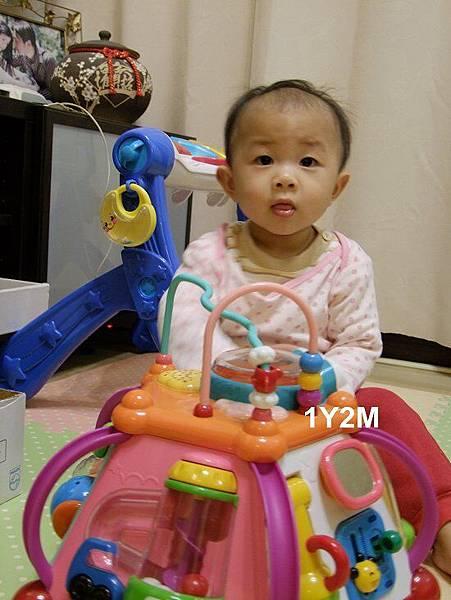 晴晴1歲2個月