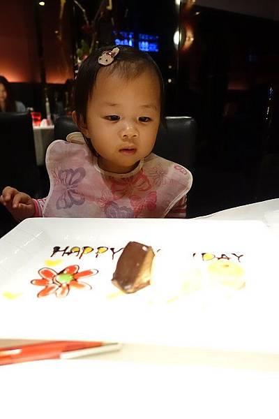 2015-09-25淡水西堤牛排,晴晴2歲生日