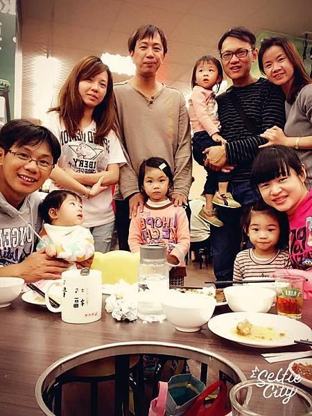 2015-11-28上午看完牙齒,晚上和家人聚餐