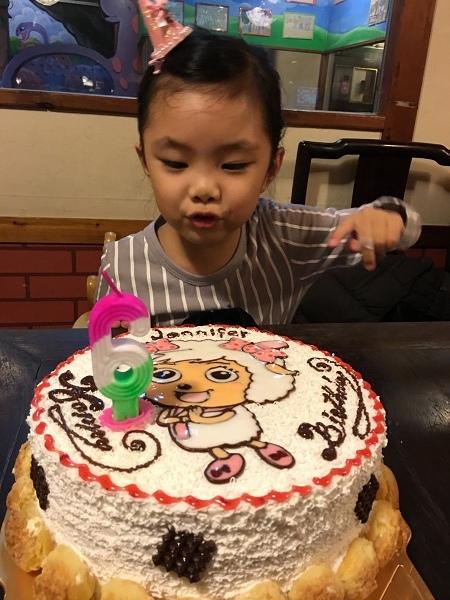 6歲生日聚~~逸馨園餐廳