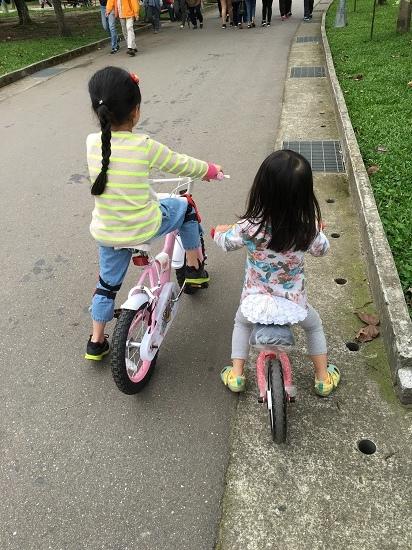 2017-04-23第一次練騎單車