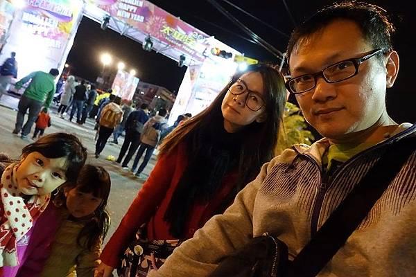 2017-12-31花蓮的家咖哩吃晚餐+東大門跨2018年