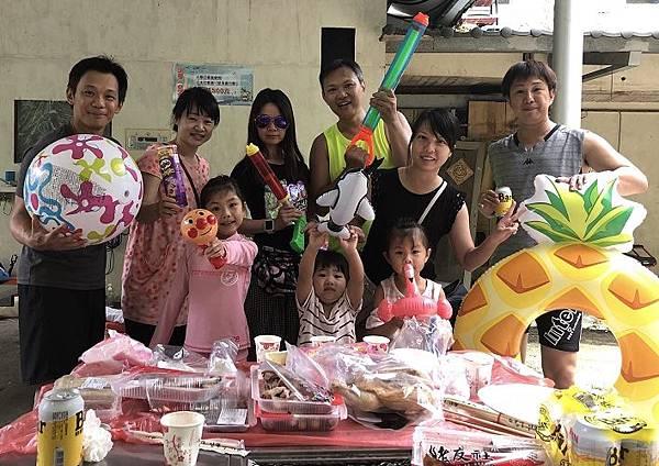 2018-06-17三峽蟾蜍山谷烤肉戲水