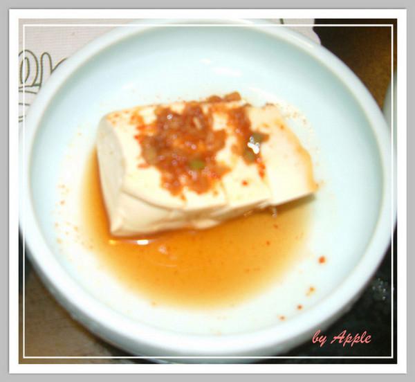 韓式冷豆腐
