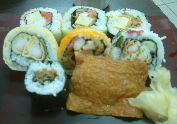 綜合壽司一人份