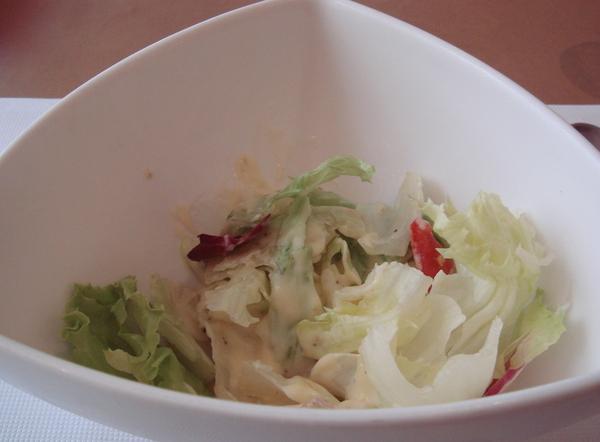 再平淡不過的沙拉