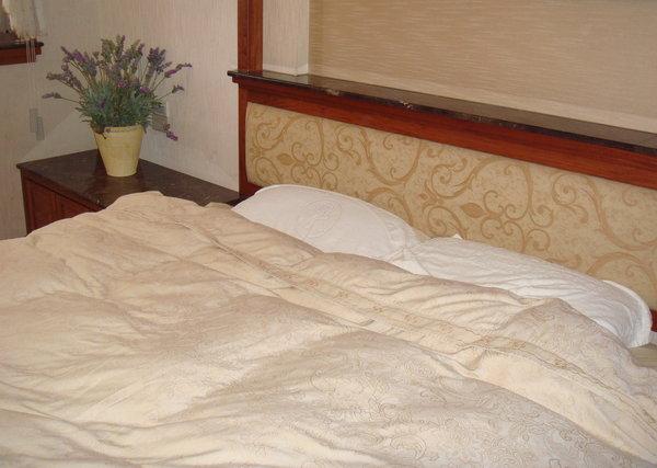 打滾專用的床.JPG