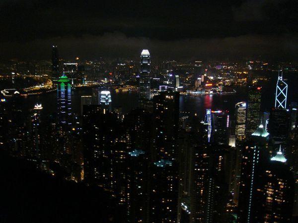 傳說中太平山的夜景