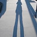 在Alamo square 街上自拍影子.JPG