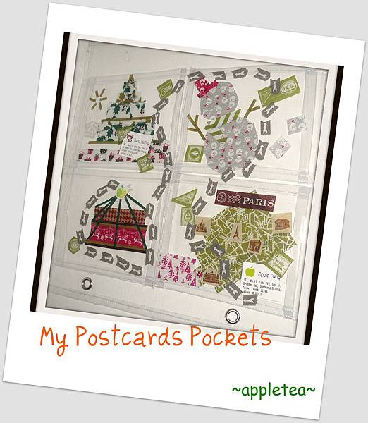My postcards pockets