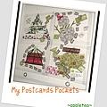 My postcards pockets