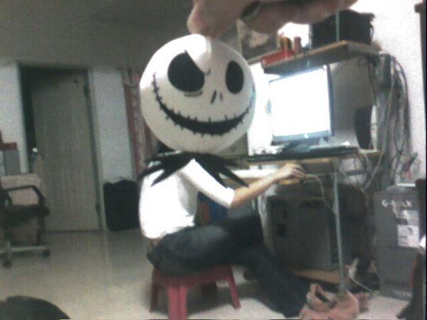 打電腦的傑克