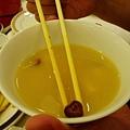 DAY1-24-晚餐BUFFET 蘑菇味增湯 有小磨菇在裡面!!