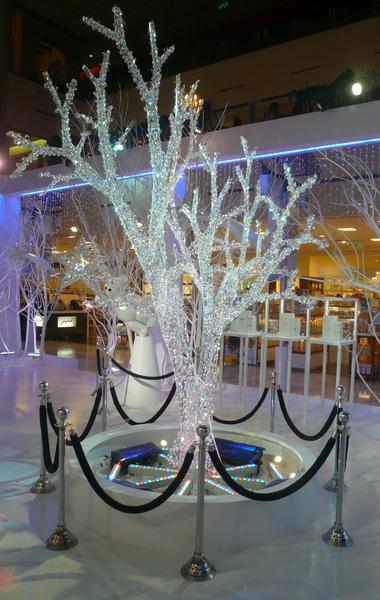 水晶聖誕樹