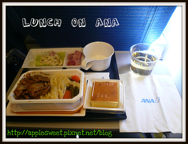Lunch on ANA