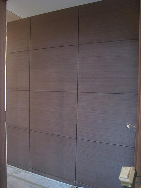 木作隱藏門