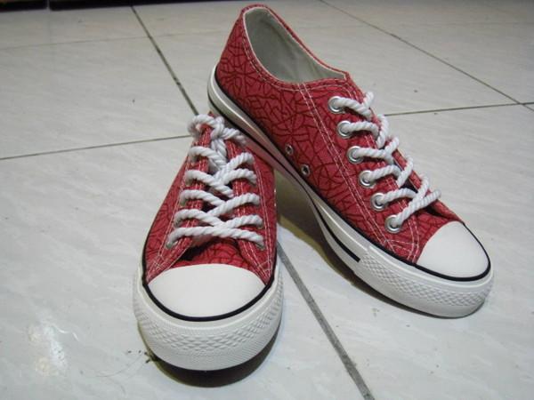 新買的帆布鞋 $200