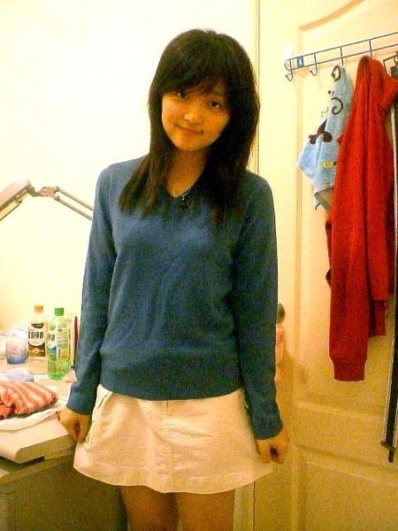 去年新買的的毛衣