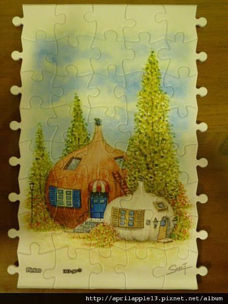 蒜頭屋和洋蔥屋完成圖