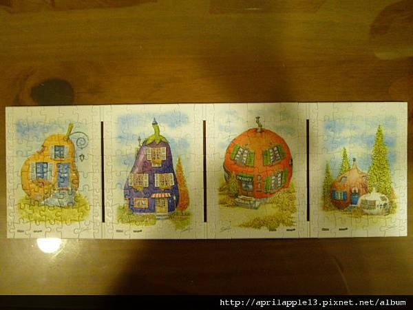 西洋梨屋+茄子屋+香橙屋+蒜頭屋和洋蔥屋