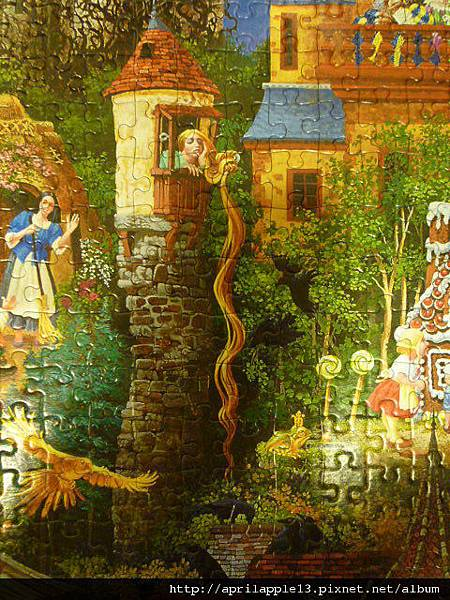 長髮公主&七隻烏鴉(只拍到6隻)&青蛙王子
