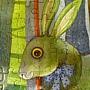 幾米好喜歡畫毛毛兔喔@