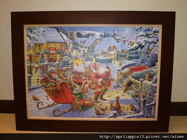 Santa's Christmas Supper有開閃光