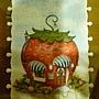 草莓屋完成囉~